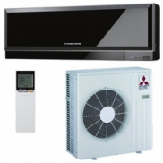 Сплит-система Mitsubishi Electric DC Inverter MSZ-EF25VE*B/MUZ-EF25VE (black) серия design