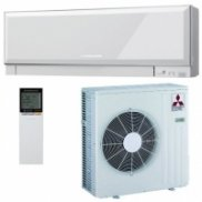 Cплит-система Mitsubishi Electric DC Inverter MSZ-EF25VE*W/MUZ-EF25VE (white) серия design